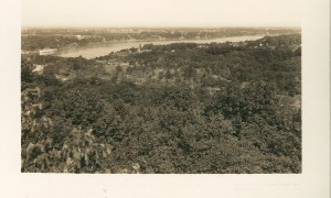 Lewiston from the Niagara Escarpment, 1920's